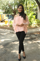 Rakul Preet Singh in lovely Pink Crop Top and Black Trousers at Jaya Janaki Nayaka success meet 057.JPG