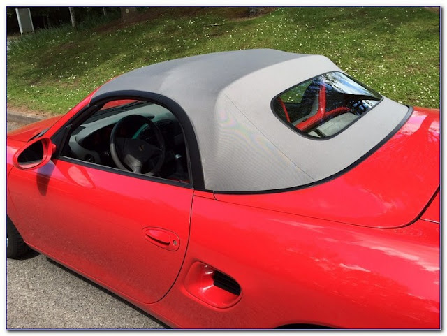 Best Boxster GLASS Rear WINDOW Conversion