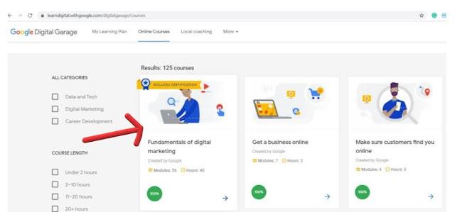 How to get Google Digital Marketing Certificate 2020