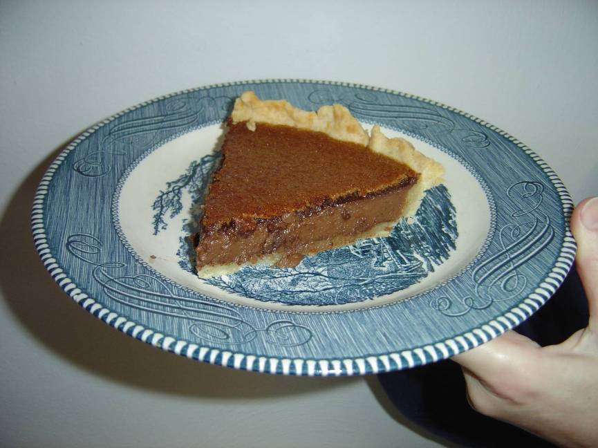 A  Piece of My  Tahitian Brownie Pie Image