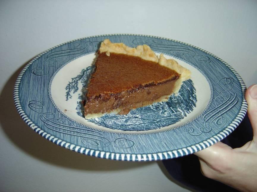 A  Piece of My  Tahitian Brownie Pie Image