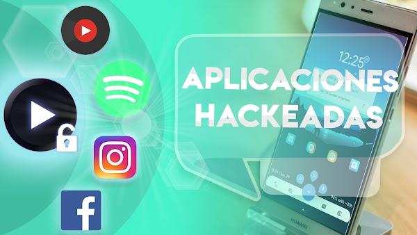 TOP 5 Estas Son las Mejores APLICACIONES HACKEADAS para Android 2018