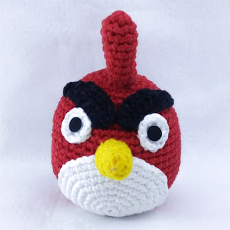 RED ANGRY BIRDS AMIGURUMI