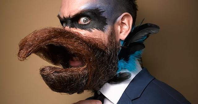Barba mais exótica