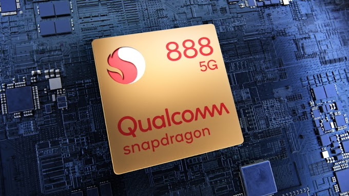 That's the Snapdragon 888 5G, the Qualcomm heart of the top range of 2021