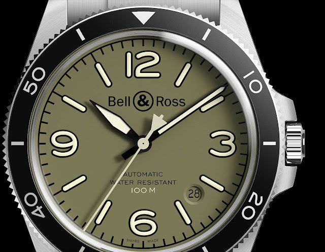 Bell & Ross BR V2-92 Military Green