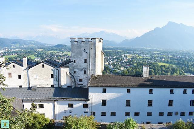 Fortaleza Hohensalzburg en Salzburg