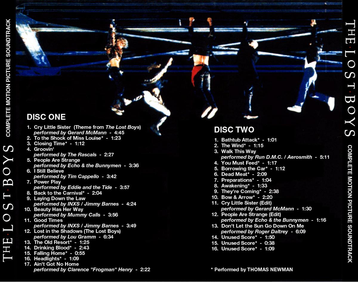 Bla Bla Bla La Vida Es The Lost Boys Soundtrack 1987