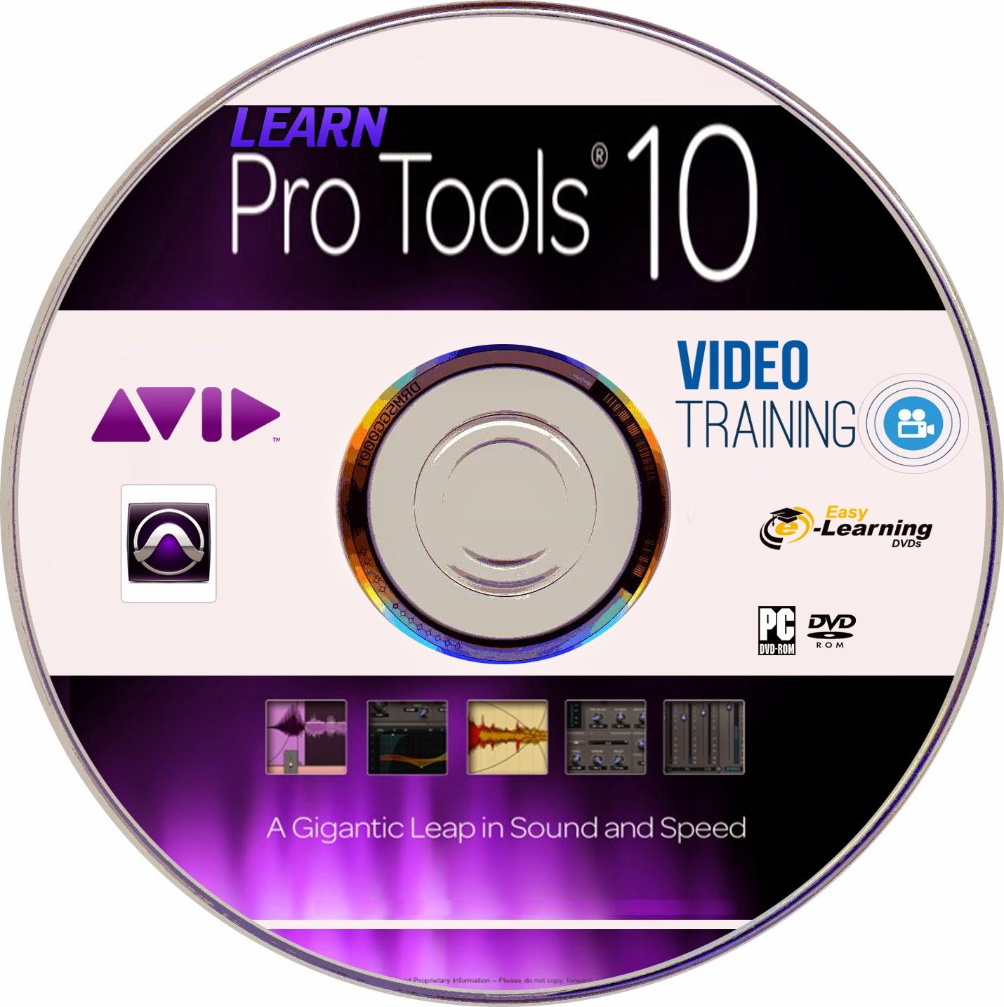 Learn Avid Pro Tools 10 Training Video Tutorial DVD