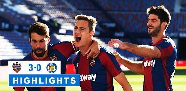 Levante vs Getafe – Highlights
