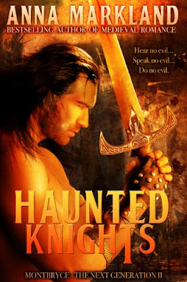 Book Review: Haunted Knights, by Anna Markland, 4 stars