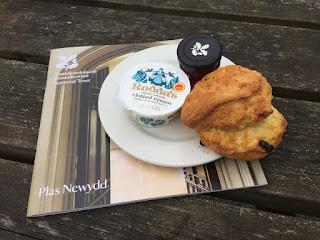 Plas Newydd scone