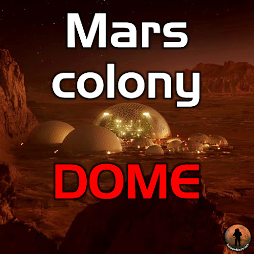 Mars colony dome