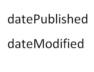 Hướng dẫn thiết lập datePublished và dateModified cho blogspot