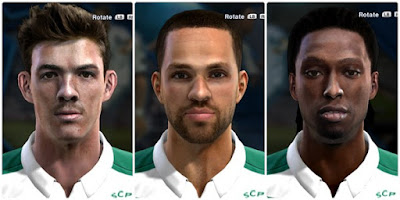PES 2013 Sporting CP Facepack by MartimLima14
