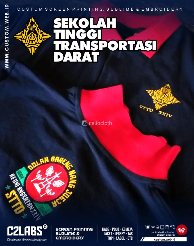 Polo Shirt Kaos Kerah Sekolah Tinggi Transportasi Darat - Konveksi Polo Jogja