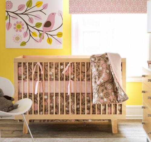 Cuarto De BebÉ En Rosa Y Blanco: HABITACIÓN DE BEBÉ EN ROSA Y AMARILLO