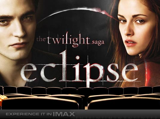 Imax poster for Twilight Saga: Eclipse 2010 movieloversreviews.filminspector.com