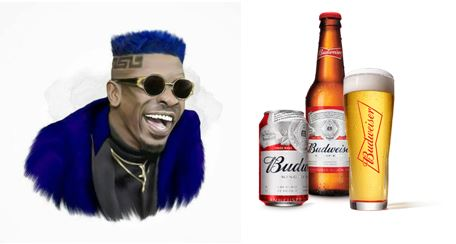 USA's Biggest Beer Companies, Budweiser Offers Shatta Wale a Contract