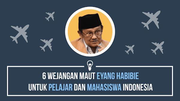 6 Wejangan Maut Eyang Habibie untuk Pelajar Indonesia