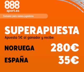 888sport superapuesta Euro 2020 Noruega vs España 12 octubre 2019