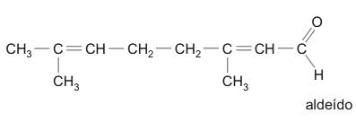 O geranial é um composto pertencente à função orgânica