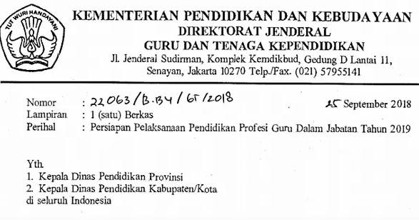 Persyaratan dan Jadwal PPG Dalam Jabatan Tahun 2019 ...