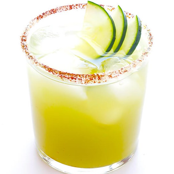 SPICY CUCUMBER MARGARITAS #drinks #cocktail