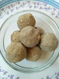 Pearl (Bajra) millet flour laddu