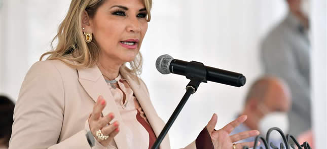Presidenta Áñez anuncia declaratoria de emergencia por incendios forestales y abrogación de Decreto que permite las quemas