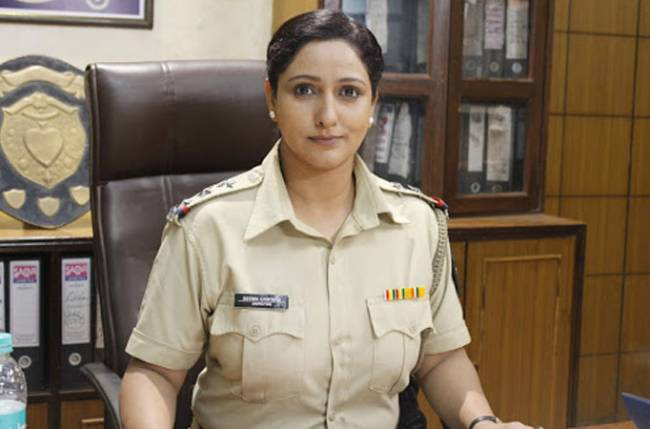 Maleeka R Ghai actress in the role of inspector in Crime Patrol