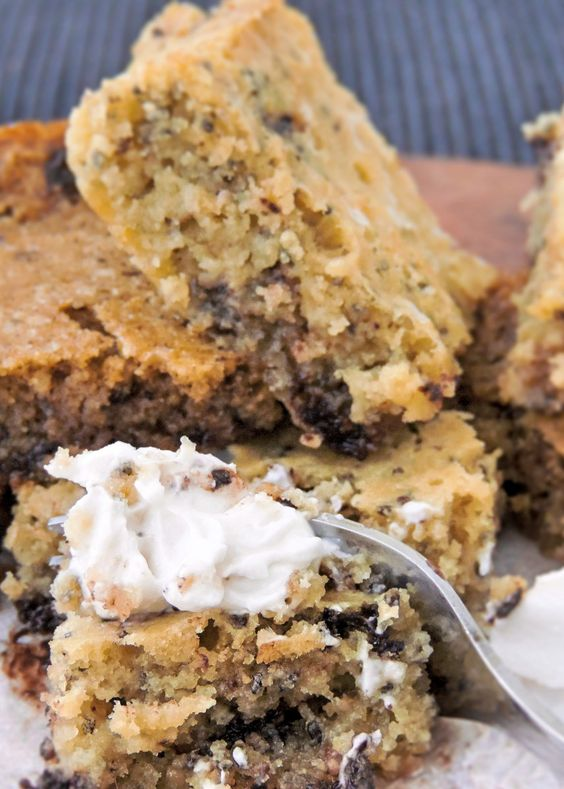 CACAO BUTTER KETO BLONDIES