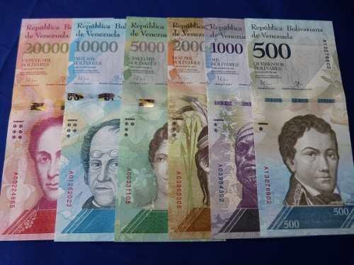 Régimen estudia poner en circulación billetes de 100 mil y 200 mil bolívares