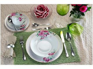 Aparelho de Jantar Chá 30 Peças Casambiente