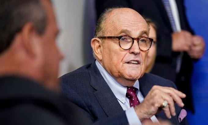 President Trump's lawyer Rudy Giuliani tests positive for Coronavirus