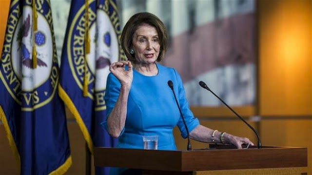 US House Speaker Nancy Pelosi told Democrats I want to see President Donald Trump 'in prison': US media Report