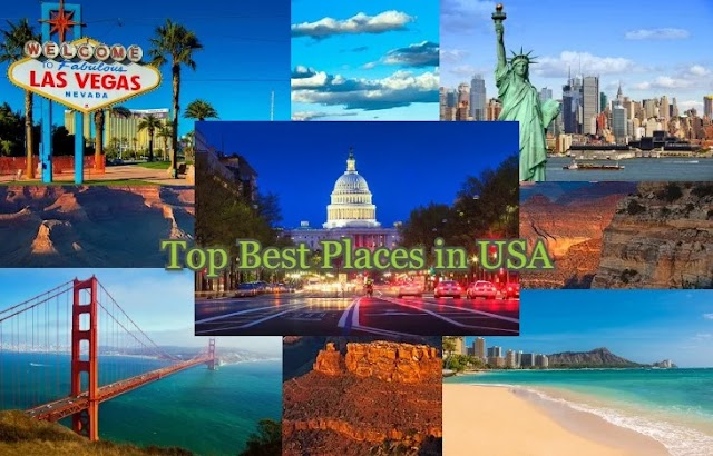 Top Best Places to visit in the USA : Visit in every month