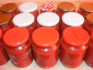 Suc de rosii cu ardei kapia pentru iarna retete culinare de casa,