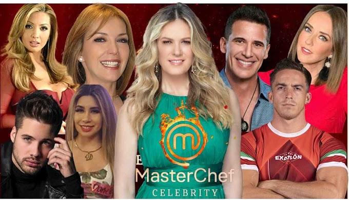 La Conductora y Participantes De MasterChef Celebrity México 2021