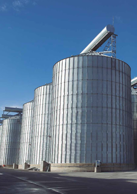 European storage silos in Bangladesh