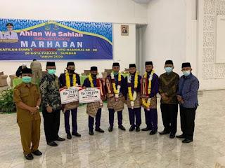 Harumkan Sumut di MTQ Tingkat Nasional, Pjs Wali Kota Medan Sambut Kedatangan Kafilah