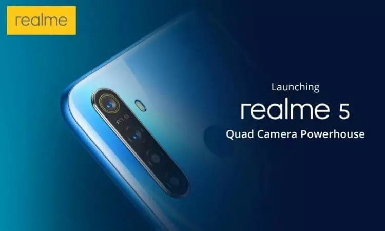 Realme 5, 5 Pro Specs and Price Revealed