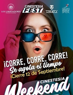 Convocatoria CINESTESIA FEST 2019