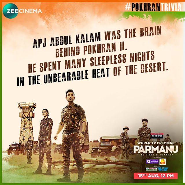 Celebrate India's Superpower Moment with Parmanu this Independence Day on Zee Cinema