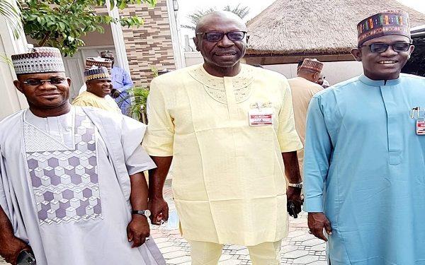 Edo Election: Buni, Yahaya Bello meet Ize-Iyamu in Abuja