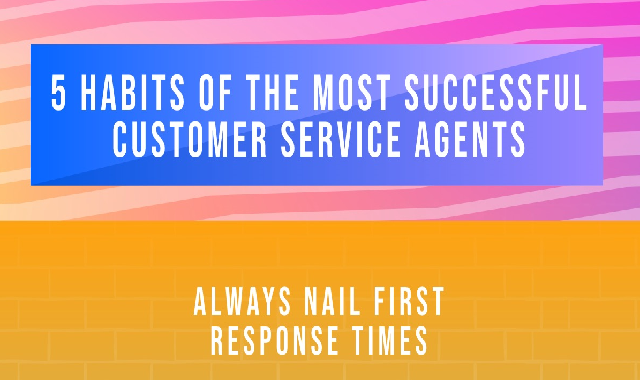 5 Habits of Successful Customer Service Agents #infographic