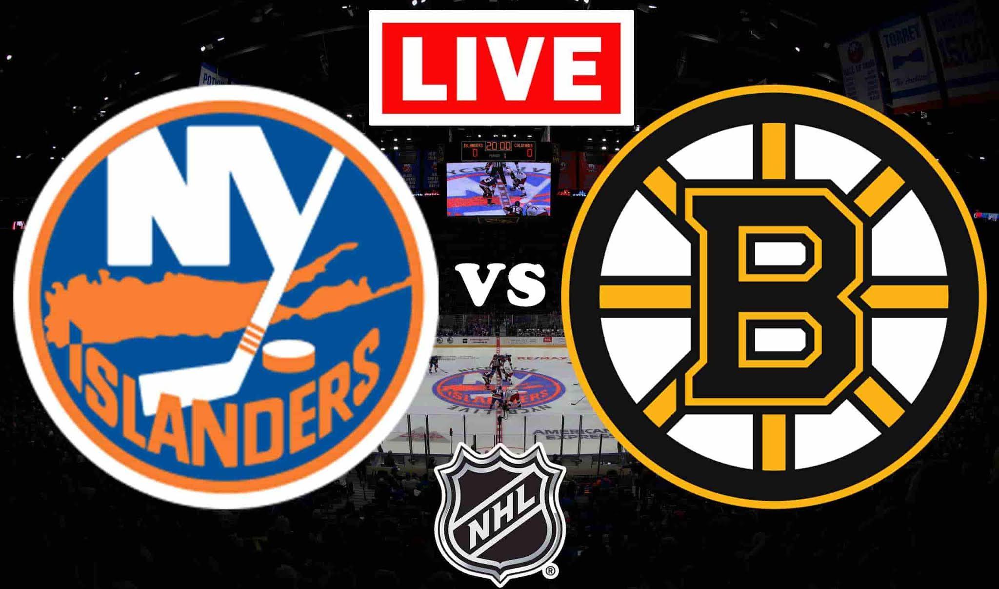 New York Islanders vs. Boston Bruins, partido de la NHL, VER GRATIS EN VIVO.