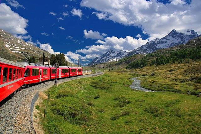 The Exhilarating Rail Journey In Switzerland