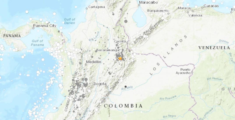 Temblor en Colombia de Magnitud 5.4 grados (Hoy Miércoles 23 Enero 2019) Sismo Terremoto Epicentro - Bucaramanga - En Vivo Twitter - Facebook - www.sgc.gov.co