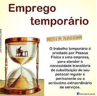 DIREITOS TRABALHADOR TEMPORARIO